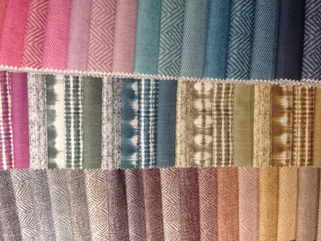 Geometrics fabrics at Perfect Home || tecidos geometric na Perfect Home