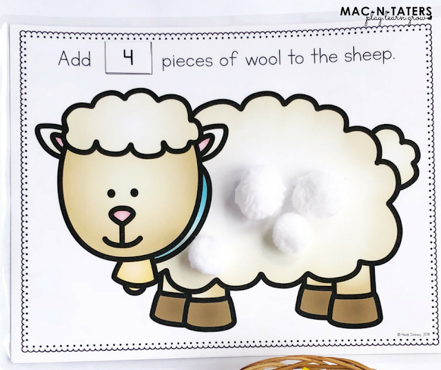 Counting Wool Mats