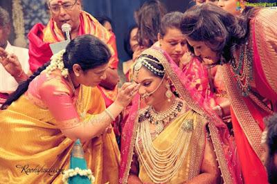 Ram Charan wedding rituals