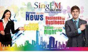 Radio Sing FM 106.5 MHz Batam