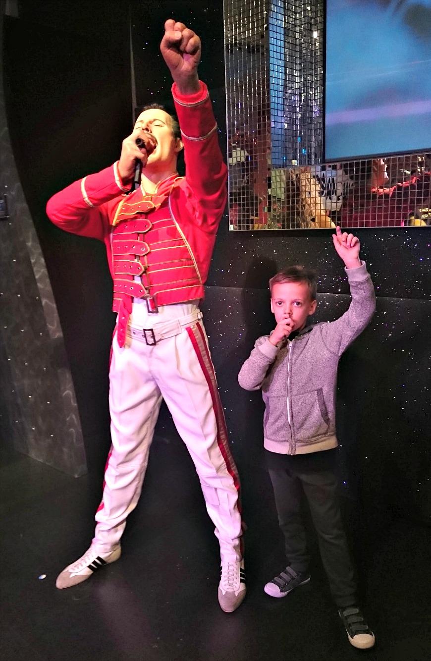 Madame Tussauds Freddie Mercury