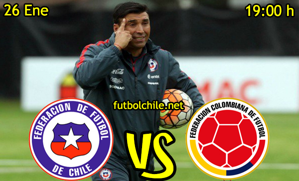Ver stream hd youtube facebook movil android ios iphone table ipad windows mac linux resultado en vivo, online: Chile vs Colombia