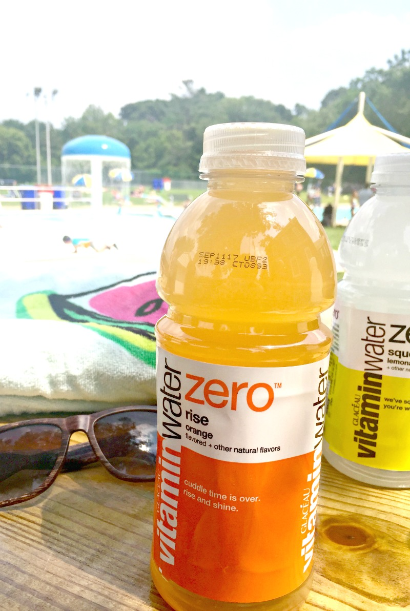 Stay hydrated on hot, sunny pool days with @Vitaminwater from @Target #ColorMeHydrated [ad] // via @ahopefulhood