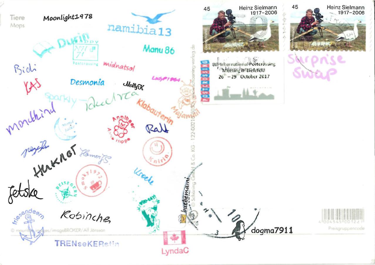 Как отправить открытку в германию по почте, талисманами леди