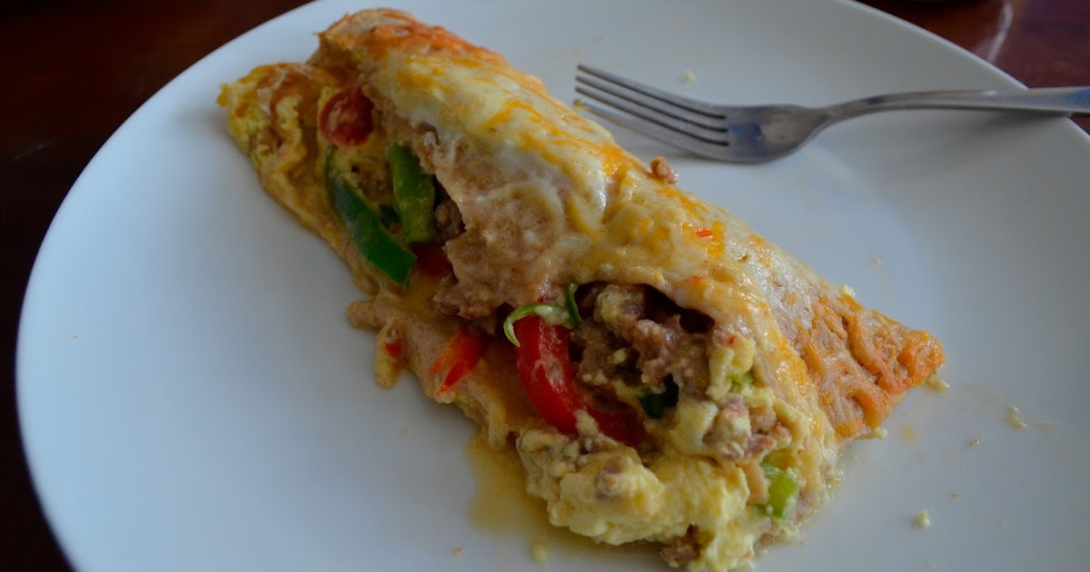 Crazy Little Thing Called Life Mexican Breakfast Burrito