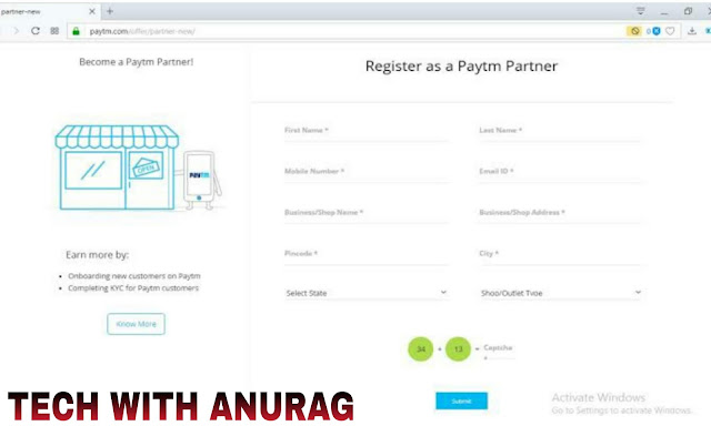 PayTM Partner Programme Kaise Join Kare | Eligible For Joining PayTM Partner Programme