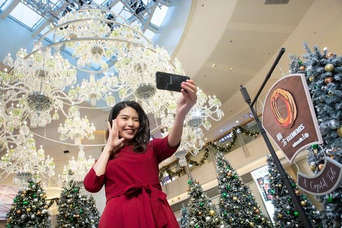 【聖誕好節目】ELEMENTS 圓方呈獻「華麗水晶童話」 燦爛醉人的美景