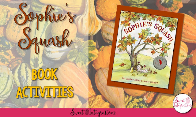 Get your free activities to go along with the book Sophie's Squash. Your students will love this sweet book and learn about life cycles.