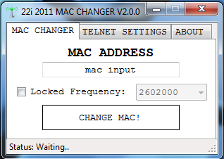 working mac address for bm622i june 2013