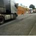 Vídeo flagra adolescente quase sendo atropelada na BR-242, no Zuca