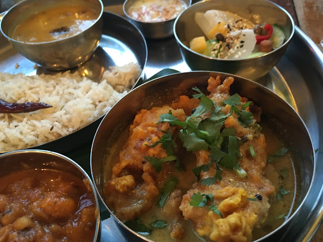 Southern Thali at The Thali Cafe in Montpelier