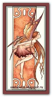 """HAED HAESF003 """"Autumn Nouveau Fairy"""""""
