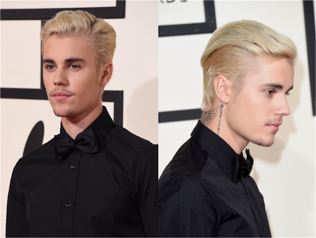 Justin Bieber's Sleek Combover