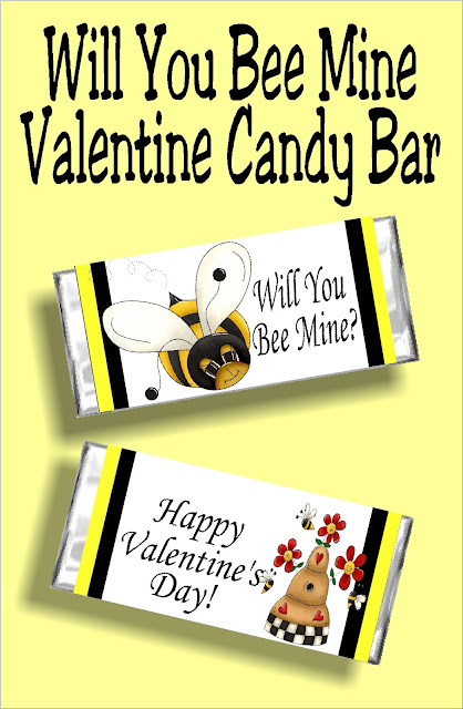 Will you bee mine? This printable candy bar wrapper is the perfect way to ask someone special to be your Valentine with a candy bar and card in one. Print yours out today and bee someone's sweetie tonight.  #beeparty #valentinecandybarwrapper #printablevalentine #valentinecard #diypartymomblog