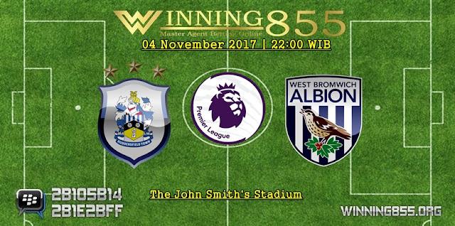 Prediksi Huddersfield vs West Brom | 04 November 2017