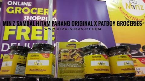 Min'z Sambal Hitam Pahang Original Kini Boleh Dibeli Melalui Potboy Groceries