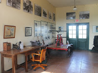 El interior de la estación