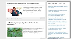 Cara Membuat Widget (Postingan Terbaru) yang Ringan dan Tanpa Gambar pada Blogspot