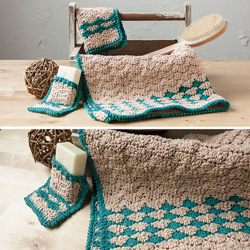 Rejuvenating Waves Spa Set - Free Pattern