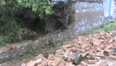 Schoolgirl's fall in government school wall in Palwal, poor school teacher
