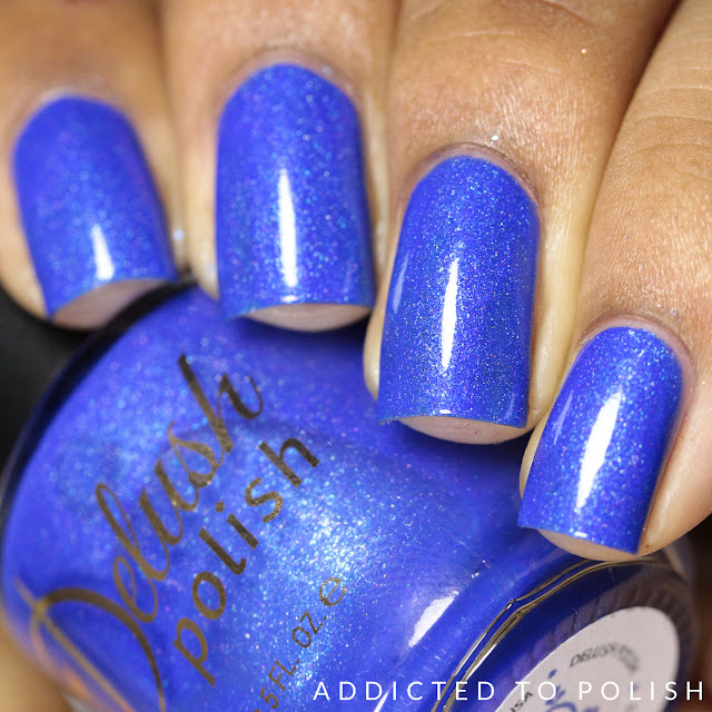 Delush Polish Tide of Your Life Nautical by Nature Swatches and Review