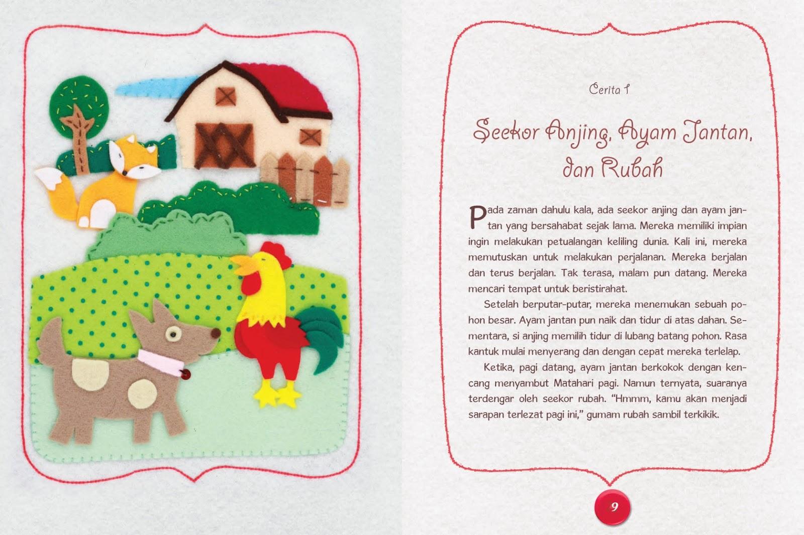 Kumpulan Cerita Fabel Versi Bahasa Jawa Contoh Lbe