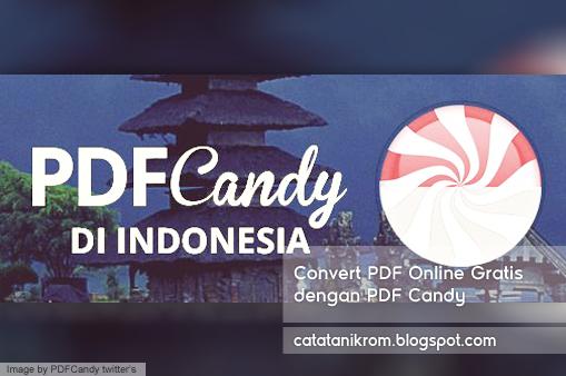 Catatan Ikrom Convert PDF Online Gratis dengan PDF Candy