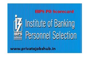 IBPS PO Scorecard