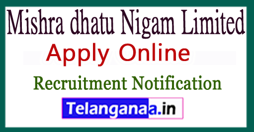 MIDHANI Mishra dhatu Nigam Limited Recruitment Notification 2017 Apply