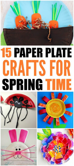 Paper Plate Kid's Crafts