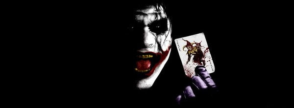 Dark Joker Facebook Cover