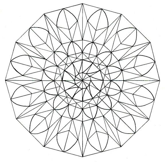 Mandalas Para Pintar Con Frase De Osho Mandalas Para Pintar - Mandalas-sin-pintar