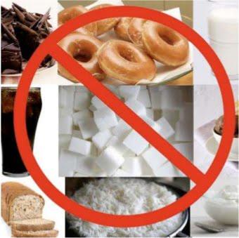 Coupez les sucres et des amidons