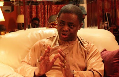 North cannot silence me, it is fire for fire – Fani-Kayode explodes