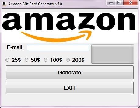 amazon gift card generaotr