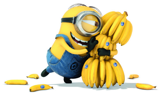 Cute minion And Banana HD Wallpapers