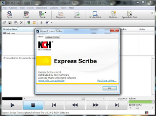 Express Scribe Transcription