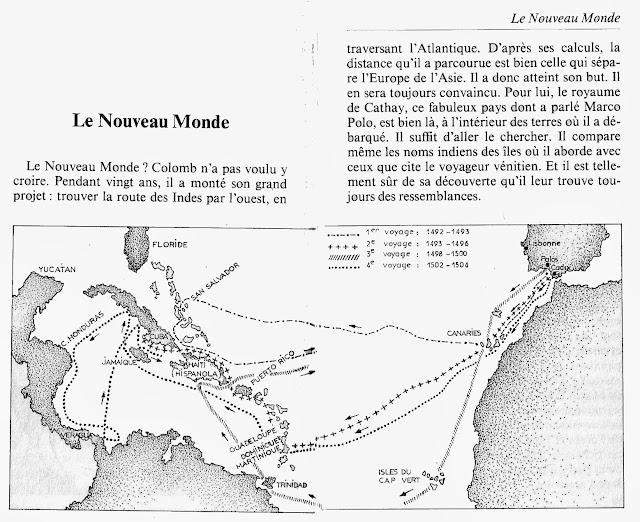 Leçons de choses: Christophe Colomb, La découverte de l\'Amérique ...