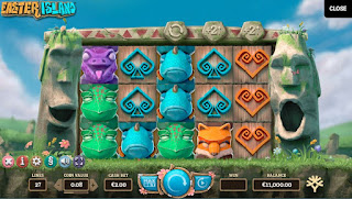 Yggdrasil's Easter Island Slot game