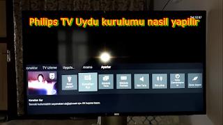 Philips TV Uydu Kurulumu / Türksat 4A Güncelleme Resimli Anlatım - 2020