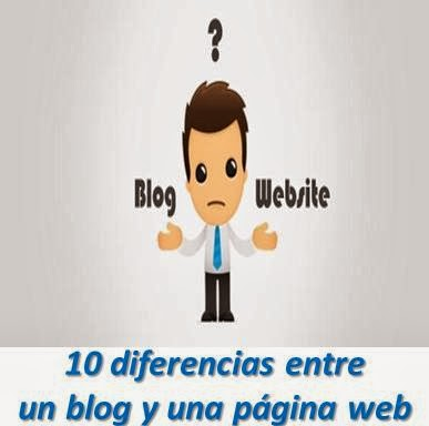 10 diferencias entre un blog y una pagina web