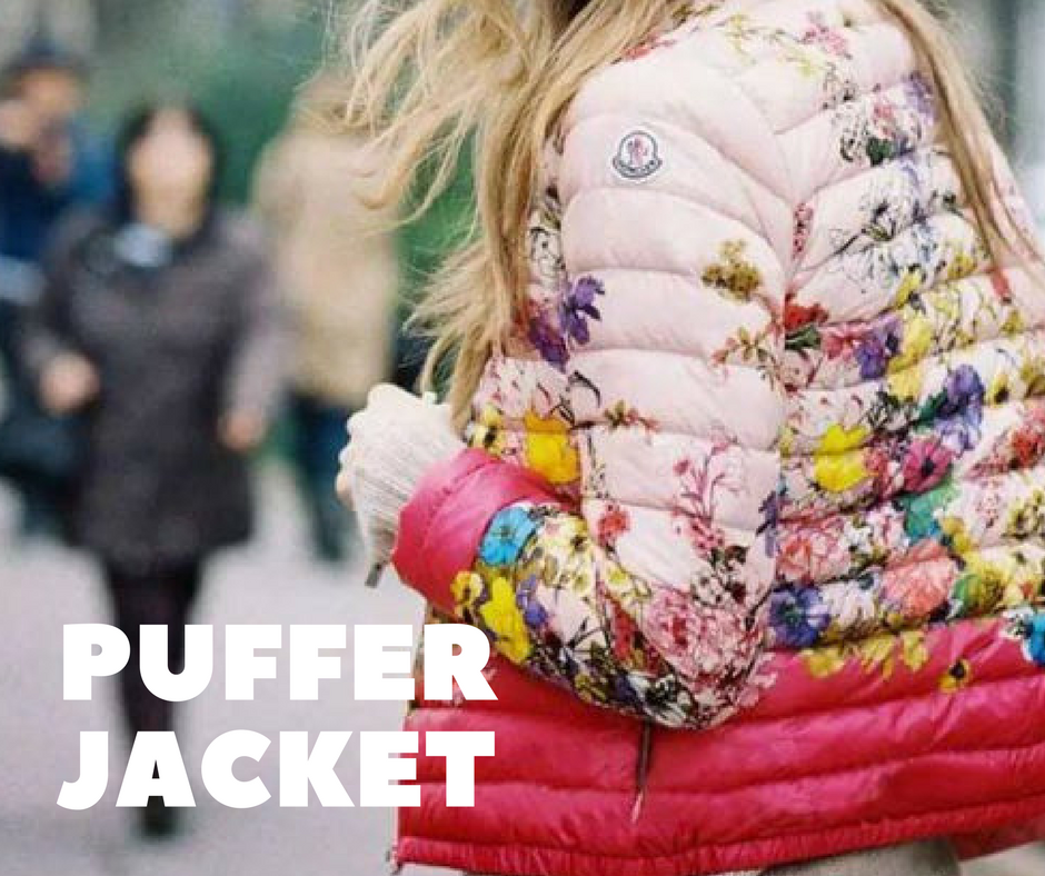 Puffer Jackets!