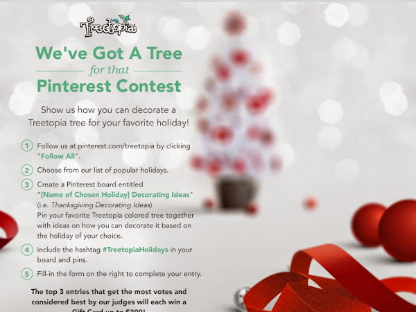 Treetopia's 'We've Got A Tree For That' Pinterest Contest