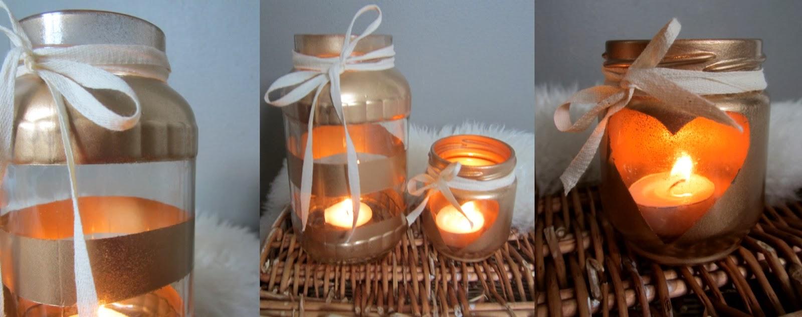 DIY: Mason Jar Candle Holders - Rach Speed
