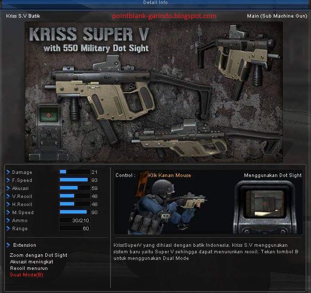 Point Blank Garena Indonesia Title Kriss S V