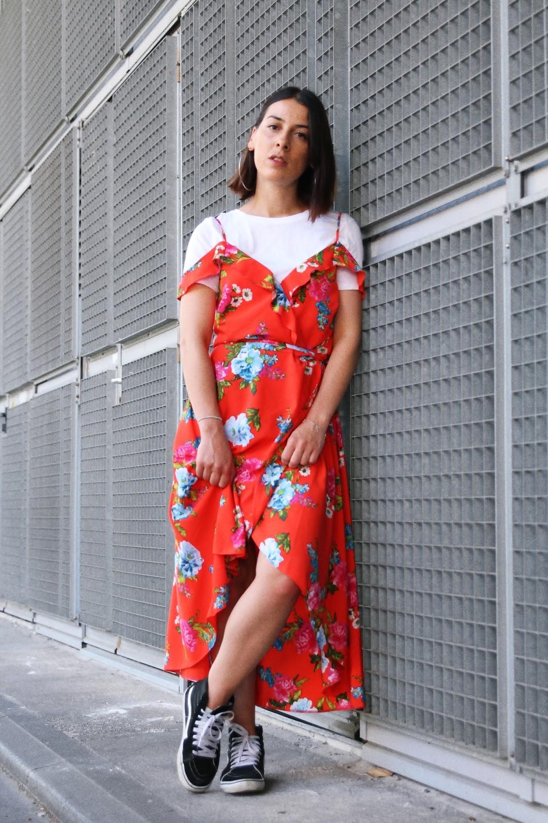 idée-de-look-robe-à-fleurs-new-look