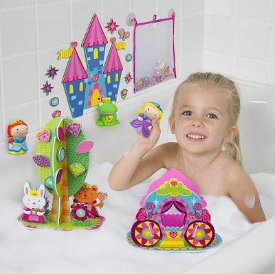 Princesses in the Tub