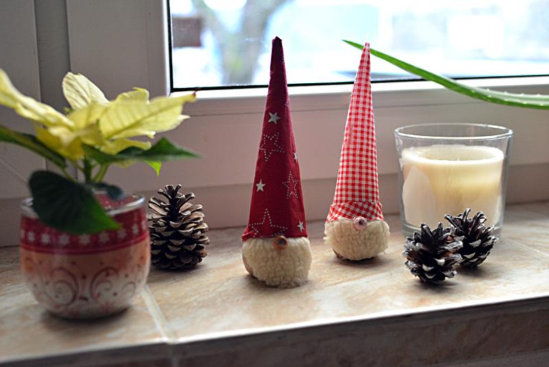 DIY  vianočný škriatok
