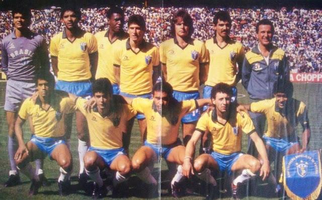 Poster Placar Seleção Brasileira Campeã do Torneio Pré Olímpico 1987 58a0fd6b6d318