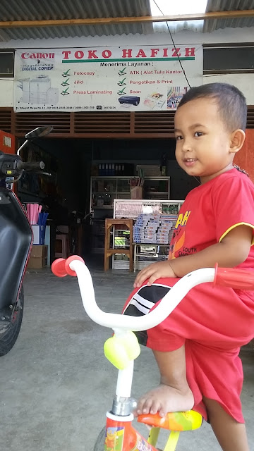 Happy 3rd Birthday Hafizh